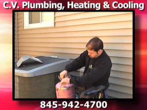 c v plumbing heating cooling haverstraw ny youtube