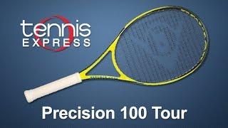 DUNLOP Precision 100 Tour Tennis Racquet Review | Tennis Express
