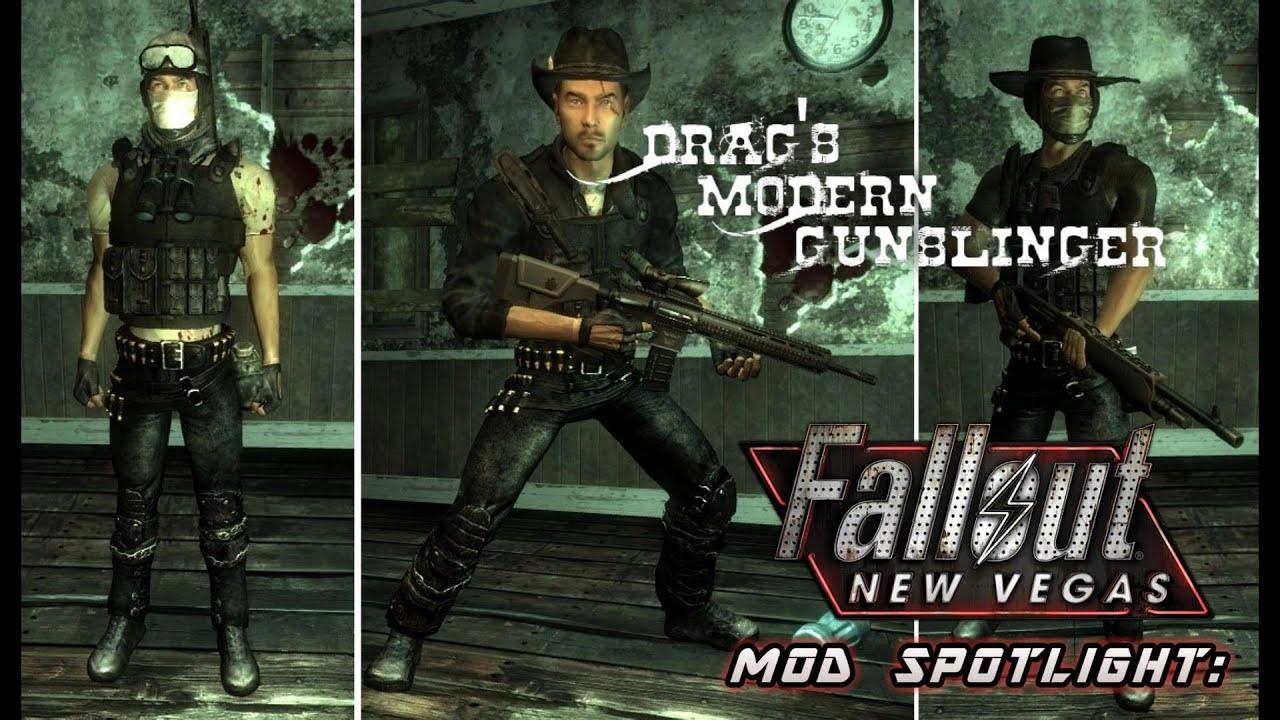 fallout new vegas modern gunslinger mod
