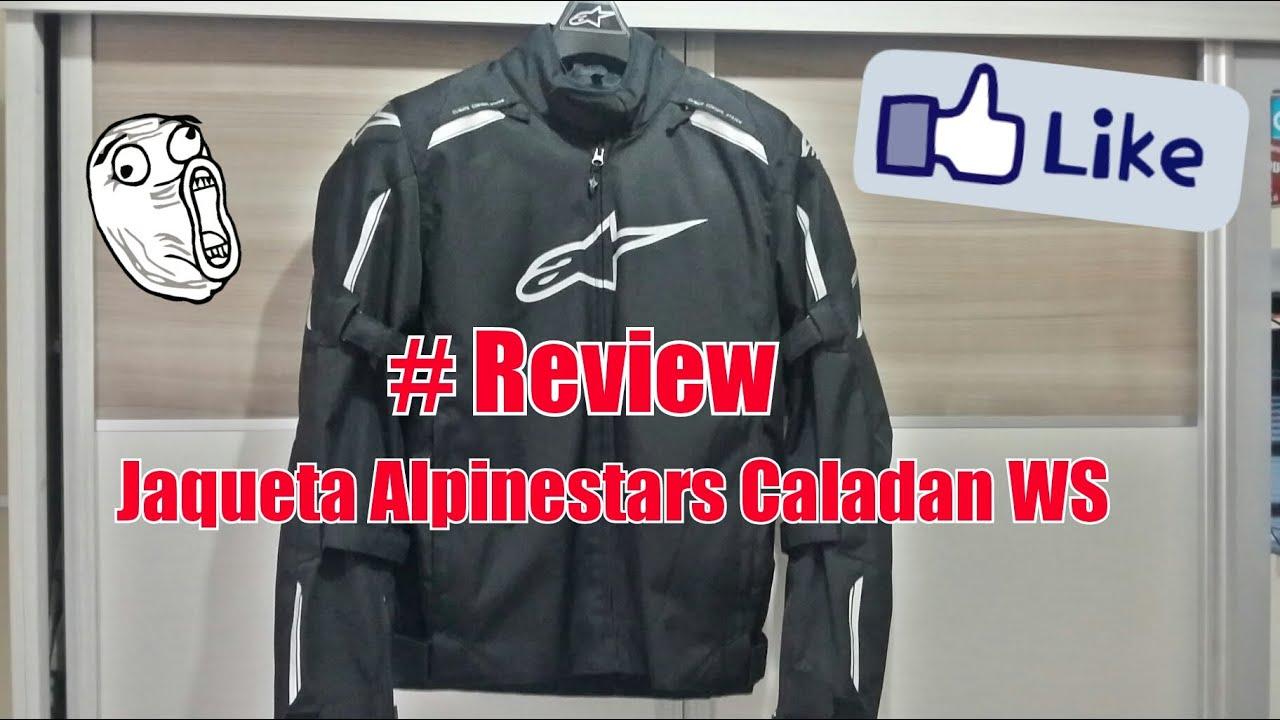94c759dcd7 76 REVIEW JAQUETA ALPINESTARS CALADAN WP RAFA CB300R - YouTube