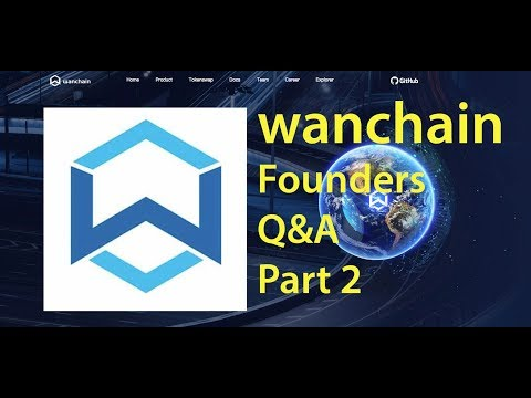 Wanchain Founders Q&A Part 2 Enosi, Sydney Crypto Meetup - Ep21