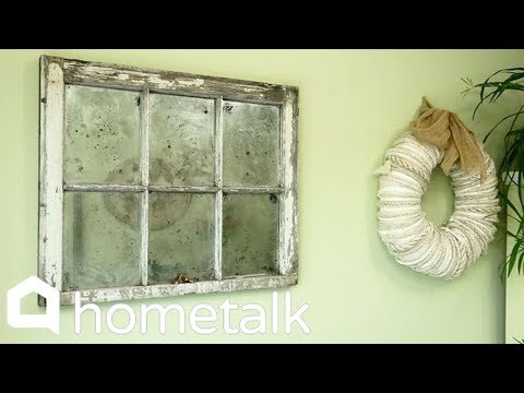 How To Fake An Antique Mirror | Hometalk