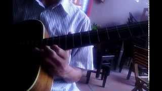 Học đàn guitar || Học đàn guitar solo chạy ngón 2 (Âm giai Am)