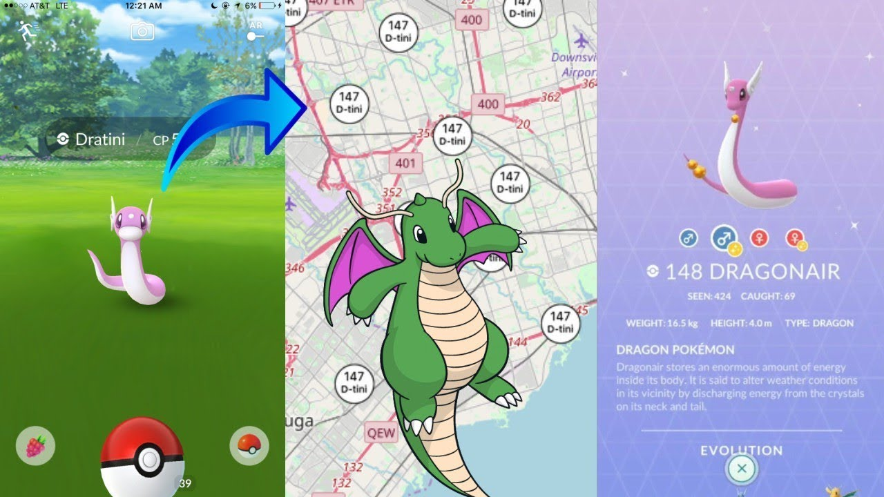 THE BEST DRATINI NEST IN THE WORLD IN POKEMON GO! GET SHINY DRATINI FAST!