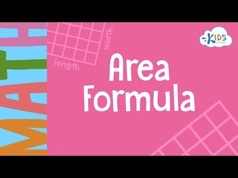 Area of Square and Rectangle | Geometry for Kids | Kids Acad