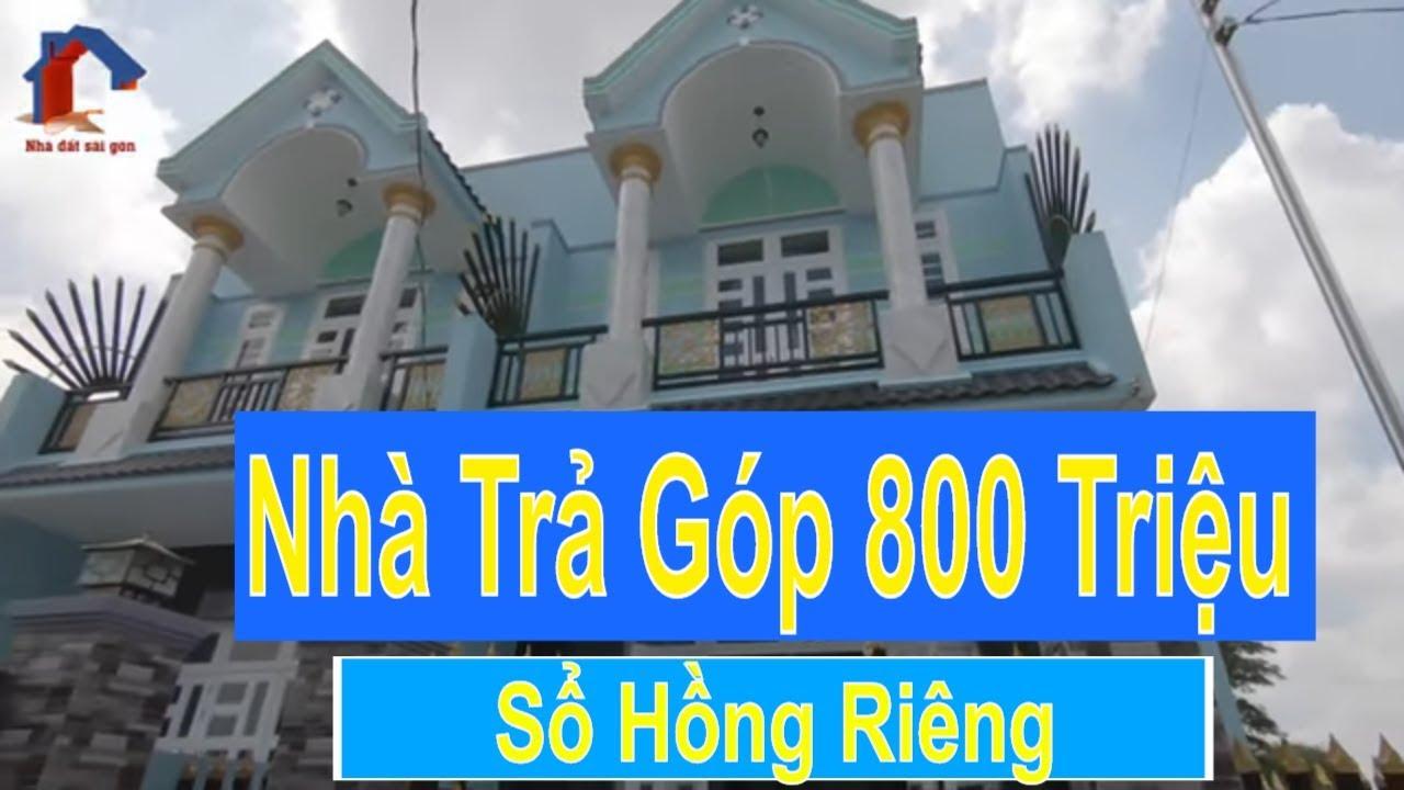 Bán Nhà Bình Chánh – Nhà giá Trả góp 800 Triệu DT:5x25mx2 – Sổ Hồng Riêng