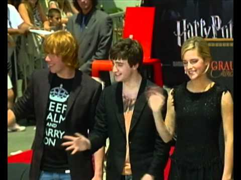 Harry Potter Actors at Grauman's Chinese Theatre