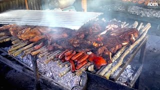 Street Food in Jamaica: Jerk Chicken in Montego Bay