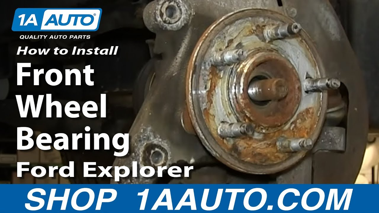 2003 Ford Expedition Parts Diagram Truck Trailer Wiring How To Install Front Wheel Bearing Hub Assembly 2002-05 Explorer Mercury Mountaineer - Youtube