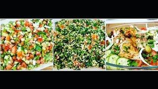3 menyra per sallaten festive/Meze per tavolinen e festave/Ide dhe gatime per festat