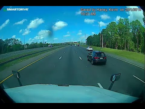 Big Rig - Butthead On I-75, Overspeed, Hits & Flips Tanker Truck