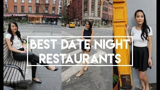 Best Date Night Restaurants in New York