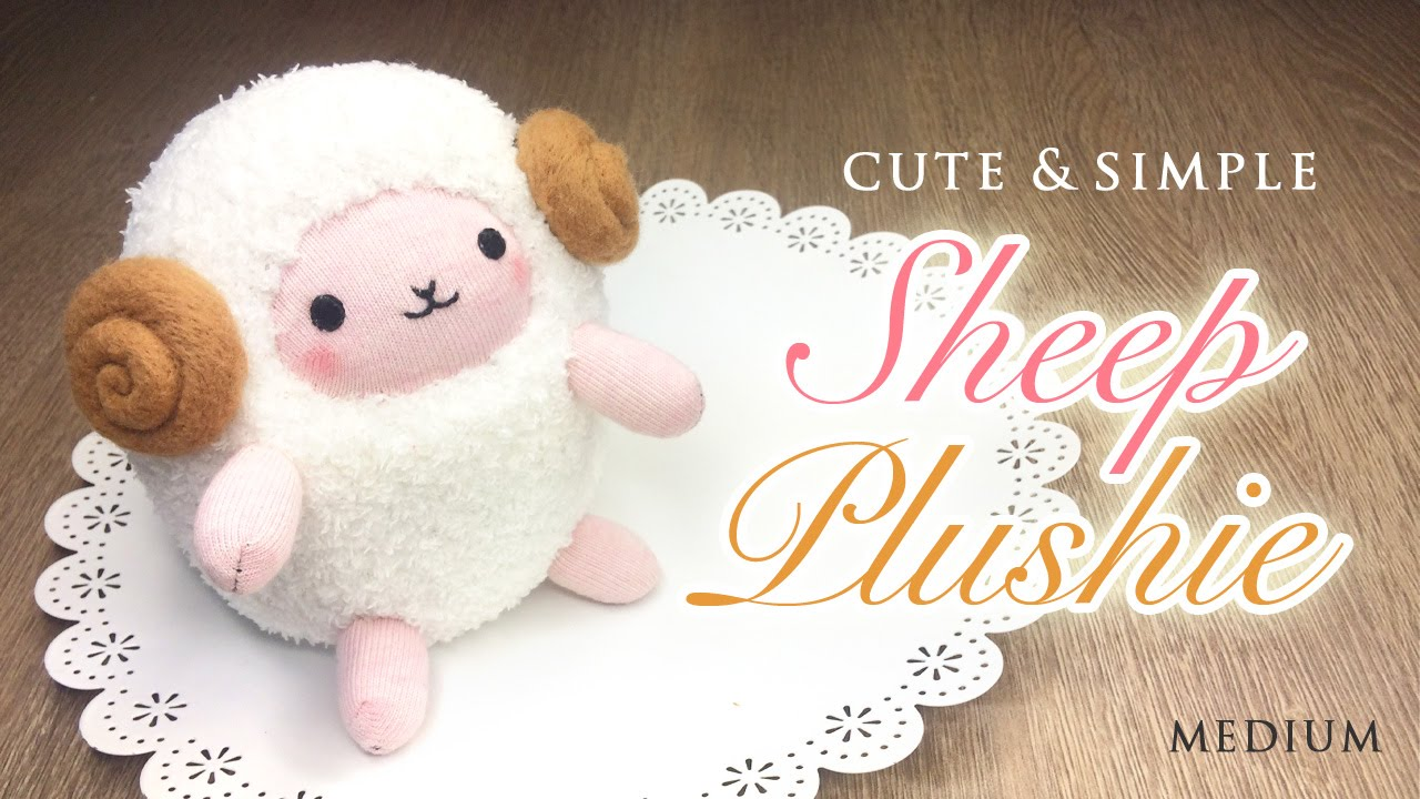 Diy Perfect Sheep Plush Tutorial Budget Crafting With Amazing