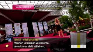 Anna Eriksson - 53rd street last virgin (live @ särkänniemi)