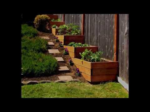 150 Gallery Garden Ideas For A Small Slope 2017