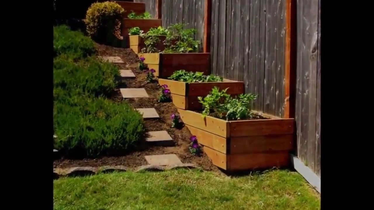 150 Gallery Garden Ideas For A Small Slope 2017 - YouTube on Small Backyard Landscaping id=17826