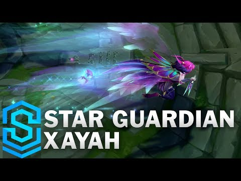 Star Guardian Xayah Skin Spotlight - League of Legends