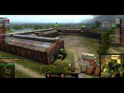 World of Tanks Clan Wars 02/13/2013 - RIVEN vs. RDDT