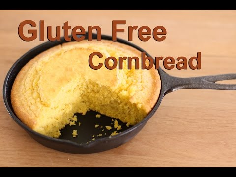Cornbread - It's Gluten Free Moist & Delicious - by Rockin Robin