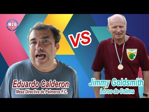Liga de Ascenso MX / Eduardo Calderón, envía Duras criticas a Jimmy Goldsmith de Loros de Colima