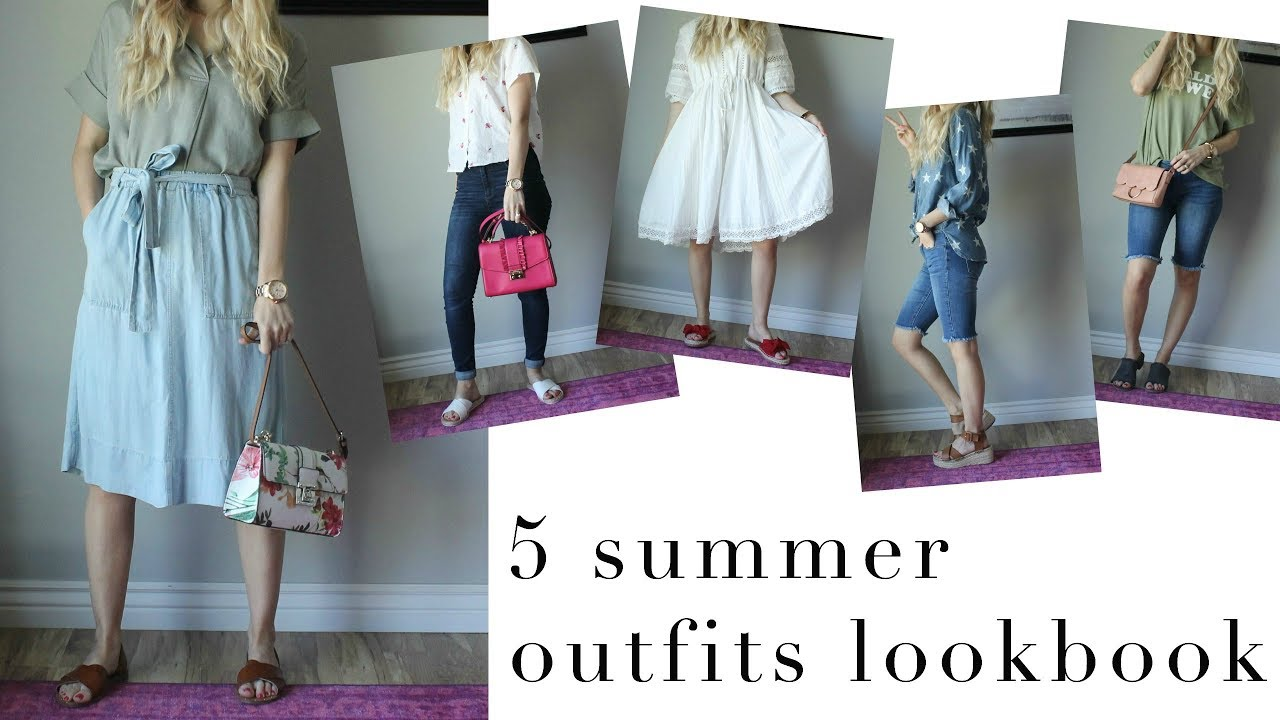 FASHION || 5 summer outfits lookbook 2