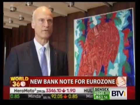 New Euro 50 Bill or Note