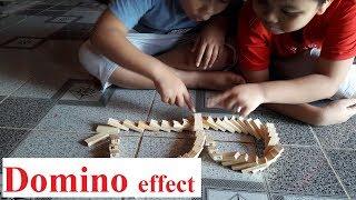 Đồ chơi trí tuệ - hiệu ứng Domino thông minh cho trẻ em