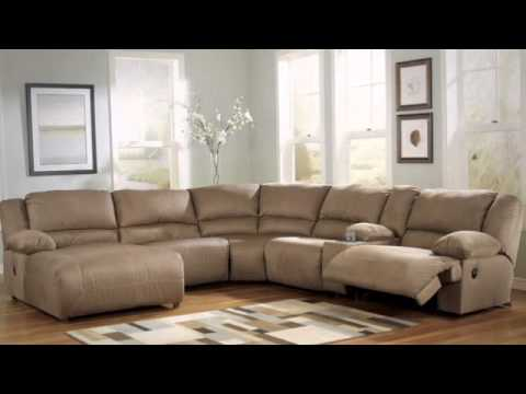 Hogan Mocha Left Corner Chaise Reclining Sectional From Signature Design By Ashley Youtube
