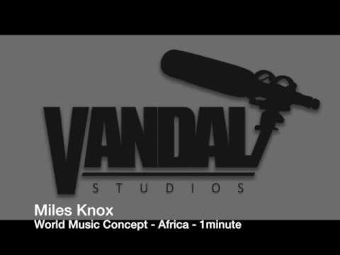 World Music Concept - Africa