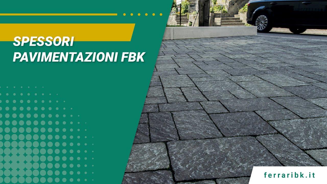 Download Spessori pavimentazioni Ferrari BK
