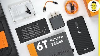 OnePlus 6T McLaren Edition Unboxing: the best smartphone box packaging ever