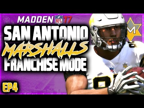 MADDEN 17 FRANCHISE MODE: NFL DRAFT + BECOME A PLAYER FOR NEW SEASON!