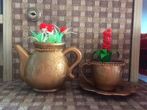 Old toy recycled  crafts ideas.How to use old toy for room decor. showpiece making at home.