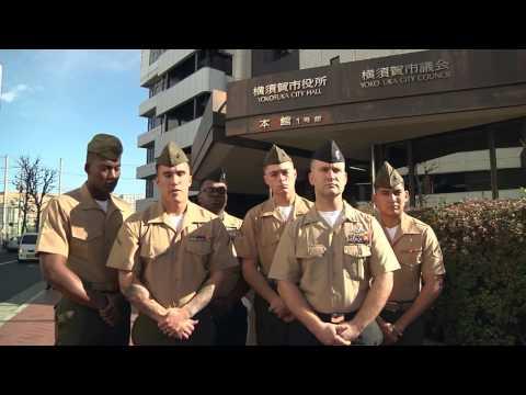 Sailors and Marines Awarded By Yokosuka Mayor