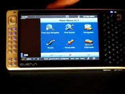 Mapfactor PC Navigator 7 review  (On Everun UMPC)