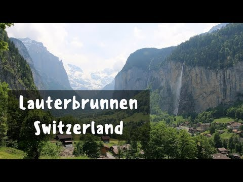 A WATERFALL ADVENTURE - Lauterbrunnen, Switzerland