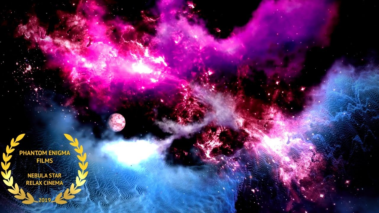 Nebula Star 1080p full HD Galaxy Universe Space Relaxing video 8 Hours