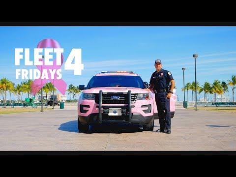 Police Fleet Fridays: Ford Explorer Breast Cancer Awareness