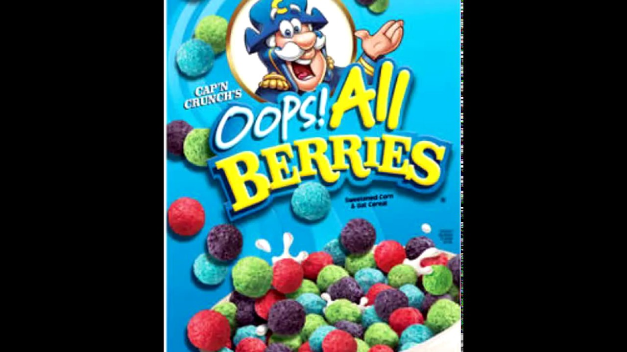 Oops All Berries Youtube Learning about crunch berries & green poop… my experience: youtube