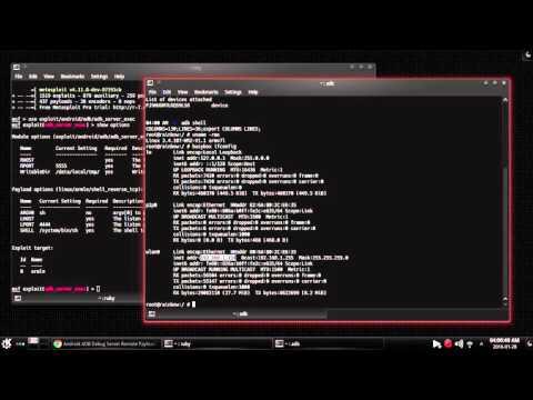 Android ADB Debug Server Remote Payload Execution