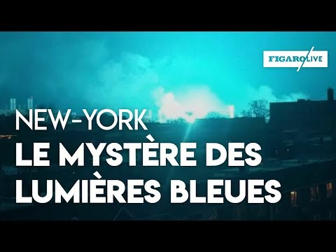 New York : de mystérieuses lumières bleues provoquent des rumeurs d'extra-terrestres