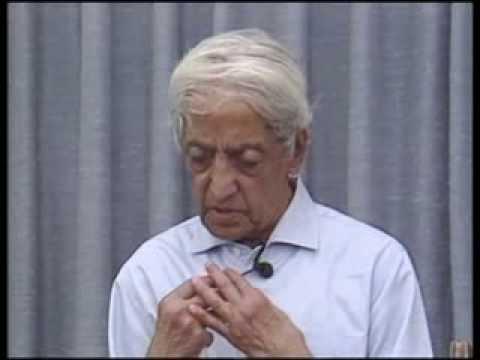 J. Krishnamurti - Saanen 1985 - Public Talk 3 - Seeing self-interest as the root of fear