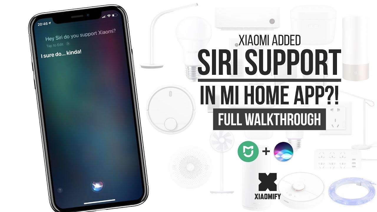 46bb61416a7 SIRI Control with Xiaomi Mi Home APP?! [Xiaomify] - YouTube