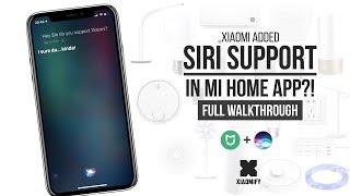 SIRI Control with Xiaomi Mi Home APP?! [Xiaomify]