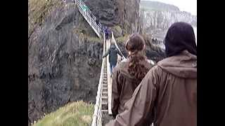 Carrick-a-Rede Swinging Bridge, County Antrim, Northern Ireland