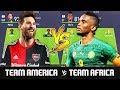 Team America VS Team Africa - FIFA 18 Experiment