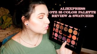 Aliexpress TZ Palette Review and Swatches