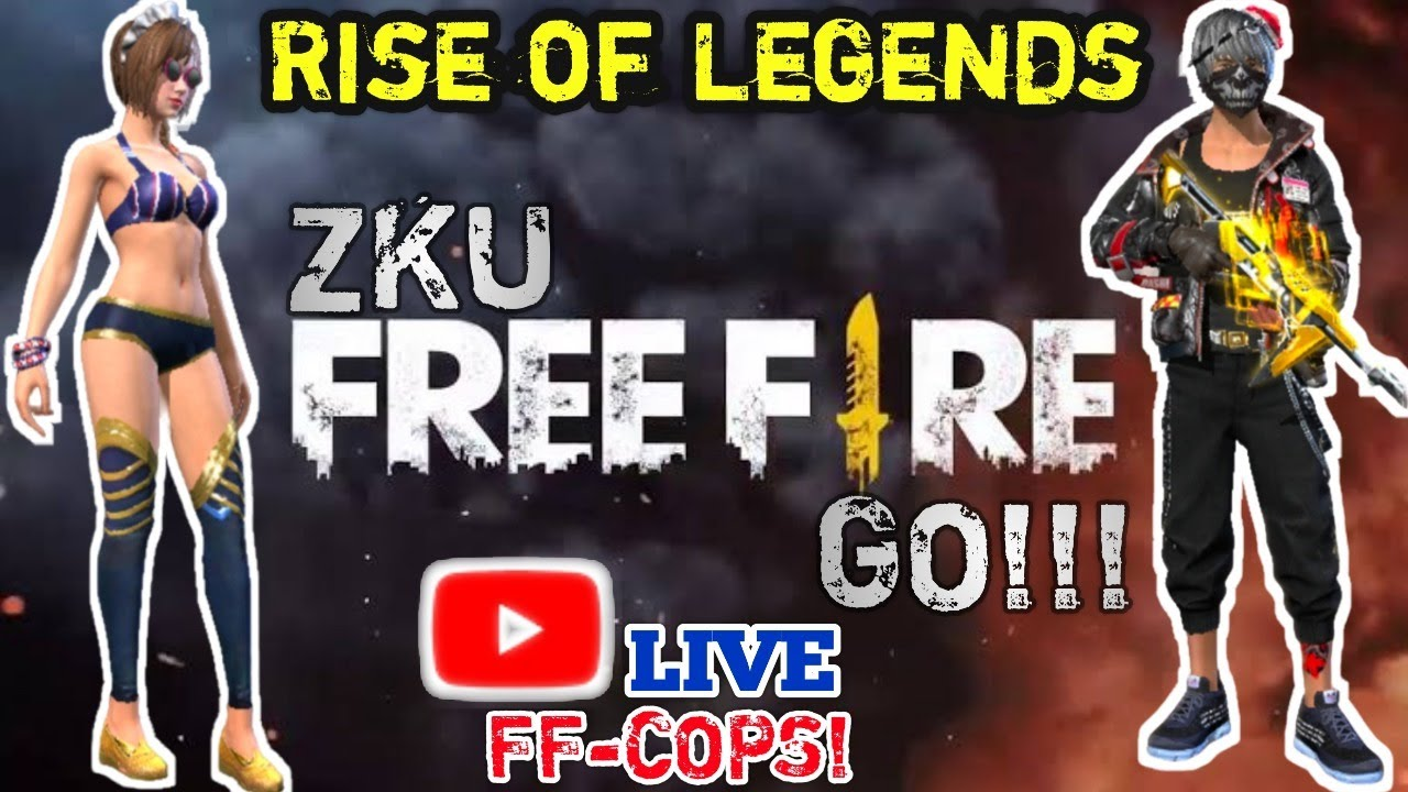 Free Fire Live Rise of Legends | Grand Final who will be the Legend !!
