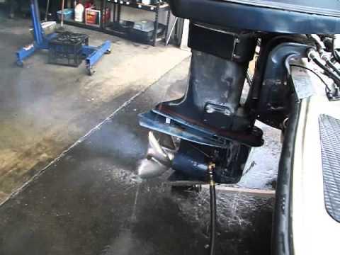 Evinrude XP 150, Starting, running,shifting and Pumping Water