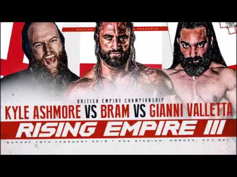 Gianni Valletta gets a title shot next Sunday at Rising Empire 3!
